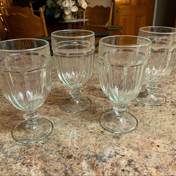 Vintage Libbey Duratuff USA - Iced Tea Goblets (4)